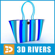 Beach bag 01 by 3DRivers 3d model