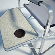 Folding chair 02 by 3DRivers 3d model