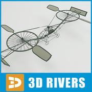 First helicopter by 3DRivers 3d model
