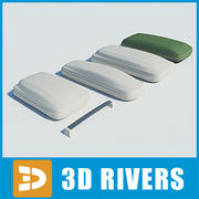 Luggage rack by 3DRivers 3d model