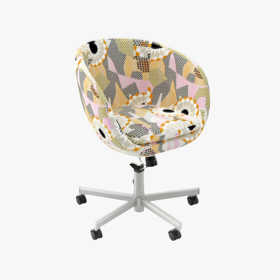 Skruvsta Swivel Chair Royalty Free 3d Model   Preview No. 1