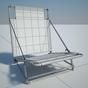 Folding chair 03 by 3DRivers 3d model
