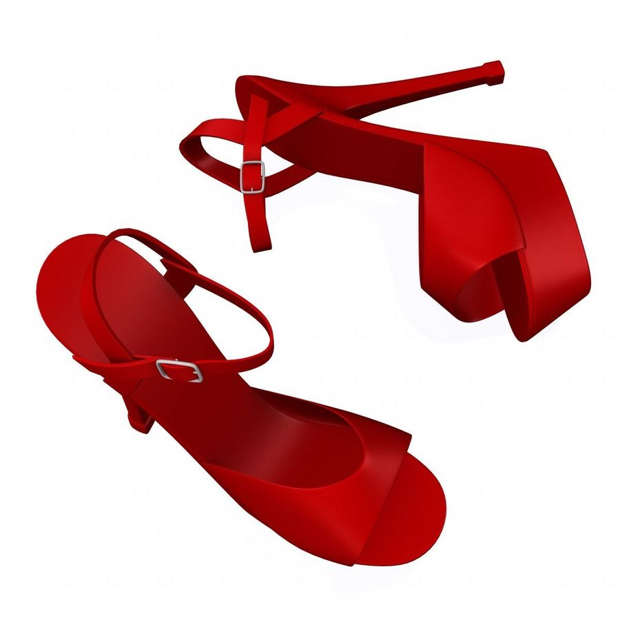 shoes2 royalty-free 3d model - Preview no. 3