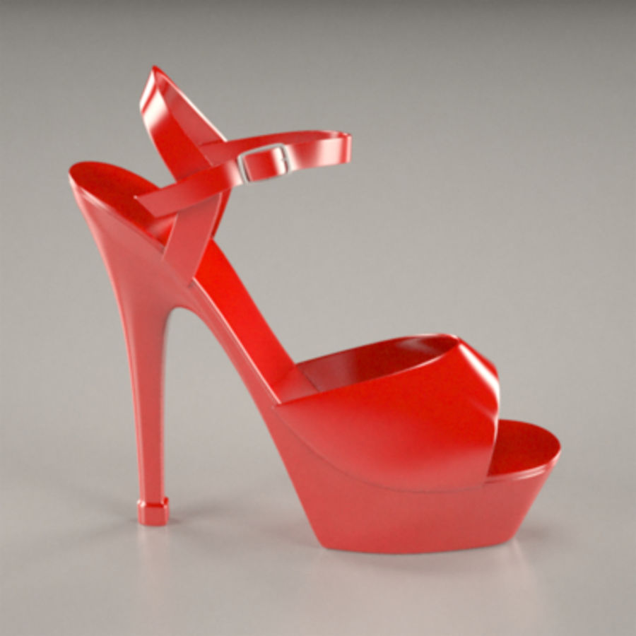 shoes2 royalty-free 3d model - Preview no. 1