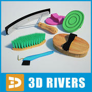 Horse brushes by 3DRivers 3d model