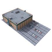 centro commerciale 3d model