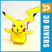 Pokemon Pikachu by 3DRivers 3d model
