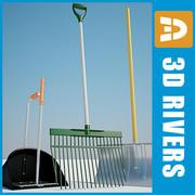 Инструменты Barn от 3DRivers 3d model