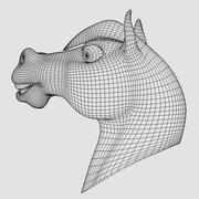 Cartoon Horse 3d model