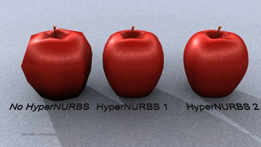 roter Apfel royalty-free 3d model - Preview no. 3