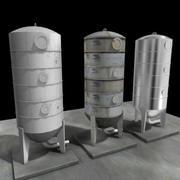 Serbatoio di silo di biodiesel 3d model