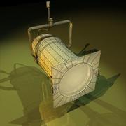 Stage Light 02 3d model