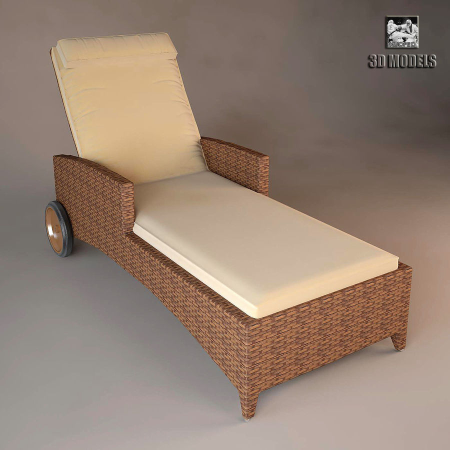 Relax chaise longue 3d model 12 max obj fbx dxf for Chaise longue relax pliante