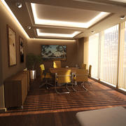 Senior Office 3d model