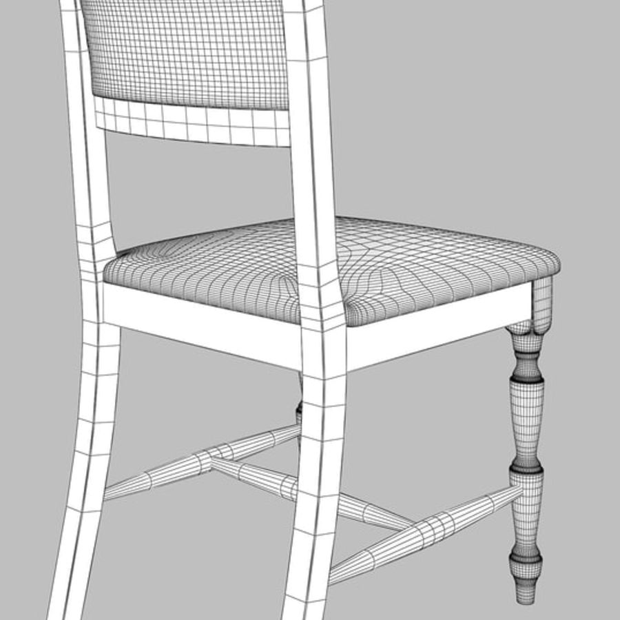 Chair cx royalty-free 3d model - Preview no. 7