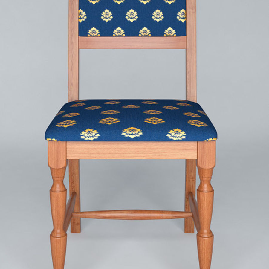 Chair cx royalty-free 3d model - Preview no. 8