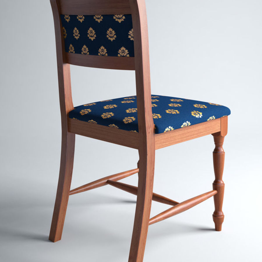 Chair cx royalty-free 3d model - Preview no. 5