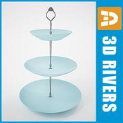 スイーツプレート02 by 3DRivers 3d model