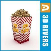 Popcorn par 3DRivers 3d model