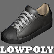 Sports shoes - low poly model 3d model