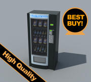 snacks vending machine 3d model