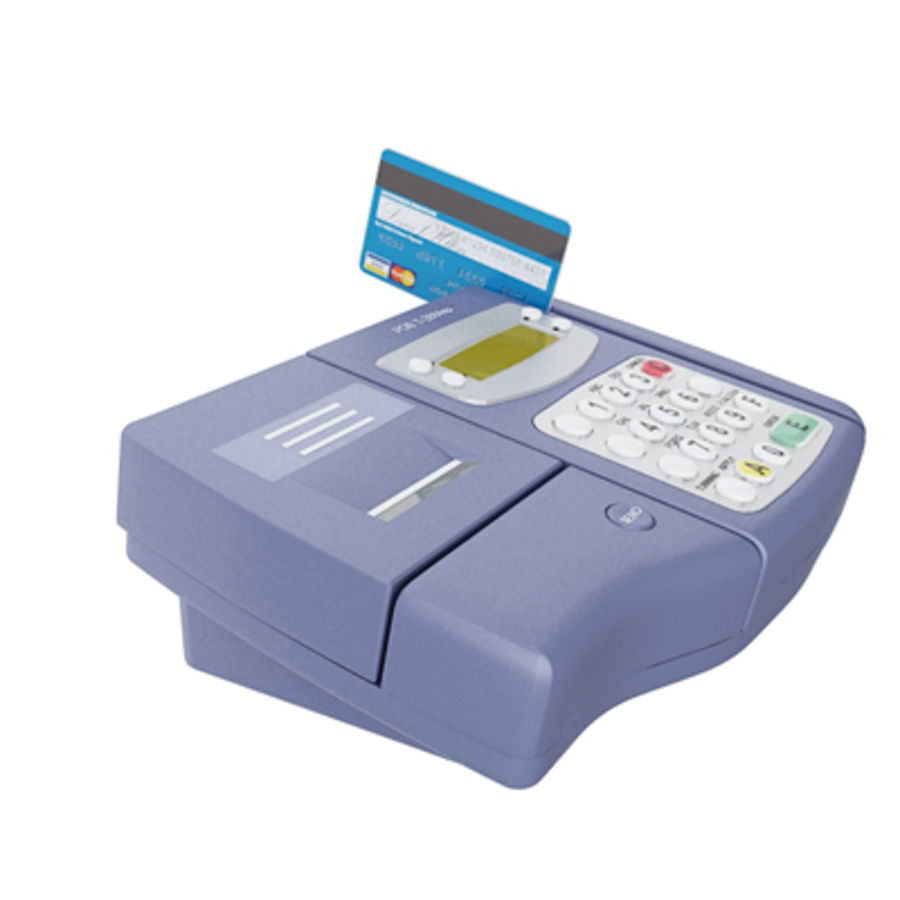 POS ( Point of Sale) card reader machine 3D Model $20 -  max