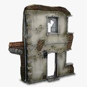 Ruine B 3d model