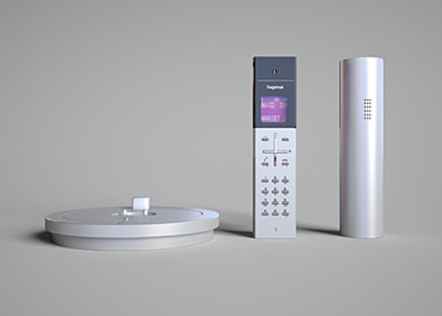 Hagenuk Classico cordless phone royalty-free 3d model - Preview no. 5