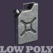 Benzine kan - lowpoly model 3d model