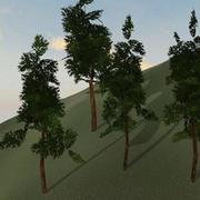 Träd modell # 6 3d model