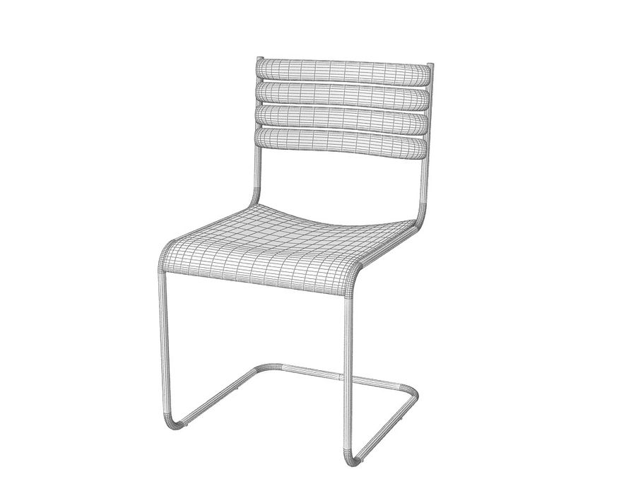 Dining Chair 28 royalty-free 3d model - Preview no. 3