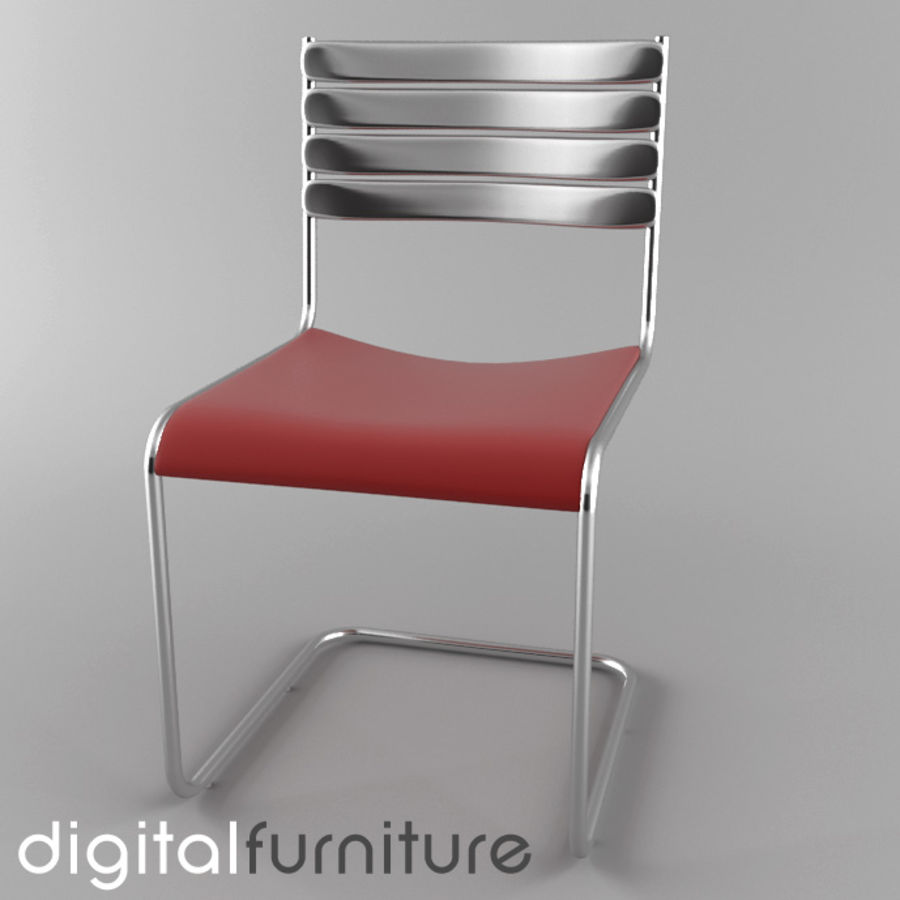 Dining Chair 28 royalty-free 3d model - Preview no. 1