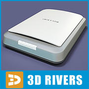 Scanner von 3DRivers 3d model