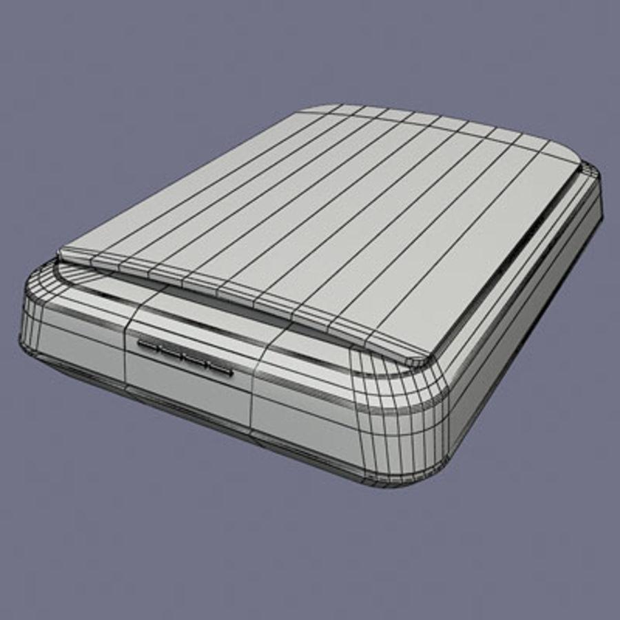 Scanner door 3DRivers royalty-free 3d model - Preview no. 3