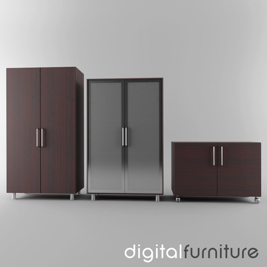 Office Storage 11 royalty-free 3d model - Preview no. 1