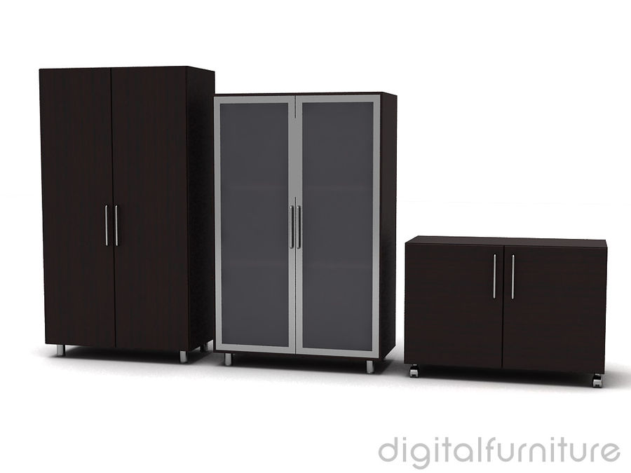 Office Storage 11 royalty-free 3d model - Preview no. 2