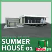 Summer house 01 3d model