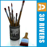 Brushes by 3DRivers 3d model
