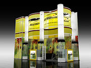 Display Booth 02 3d model