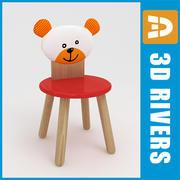3DRivers tarafından Çocuk koltuğu 01 3d model