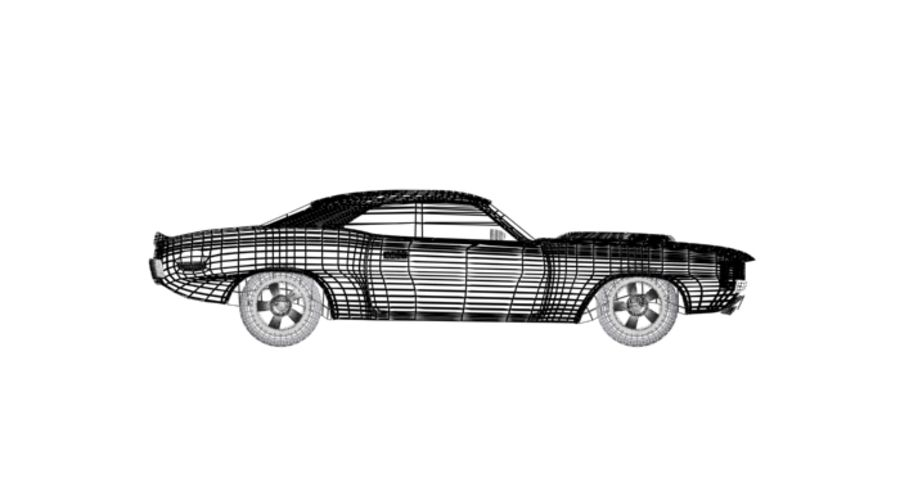 voiture.max royalty-free 3d model - Preview no. 6