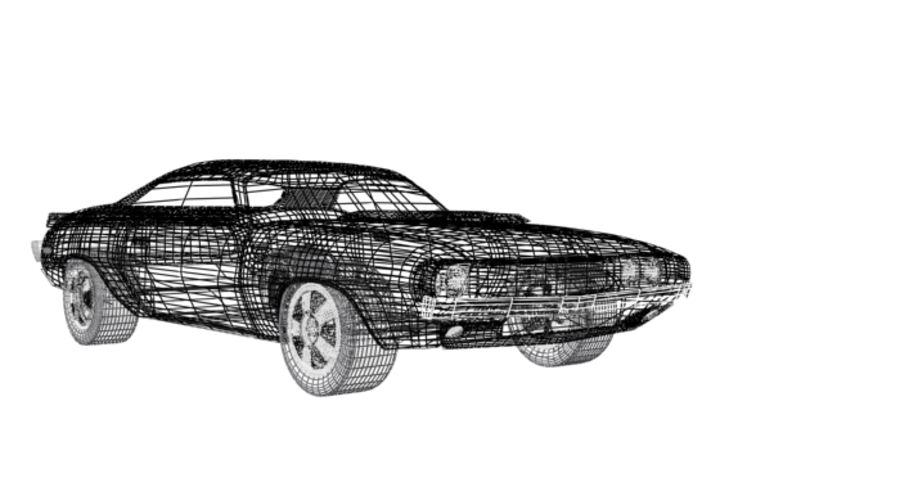 voiture.max royalty-free 3d model - Preview no. 7