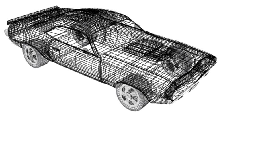 voiture.max royalty-free 3d model - Preview no. 4