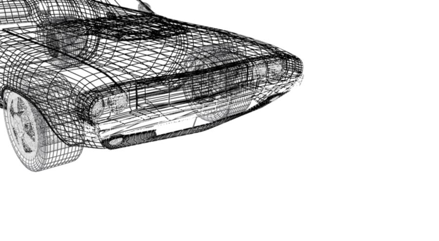voiture.max royalty-free 3d model - Preview no. 5