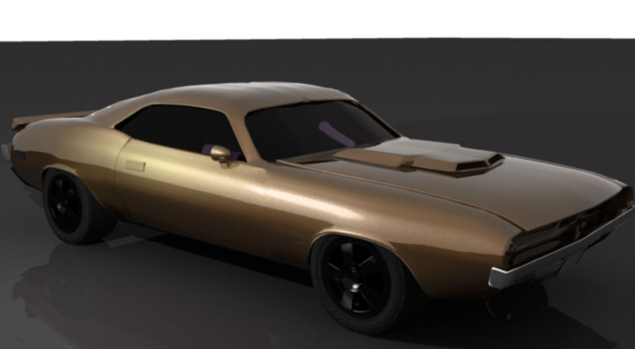 voiture.max royalty-free 3d model - Preview no. 2