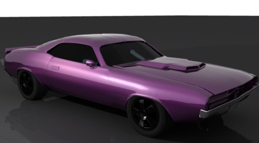 voiture.max royalty-free 3d model - Preview no. 1