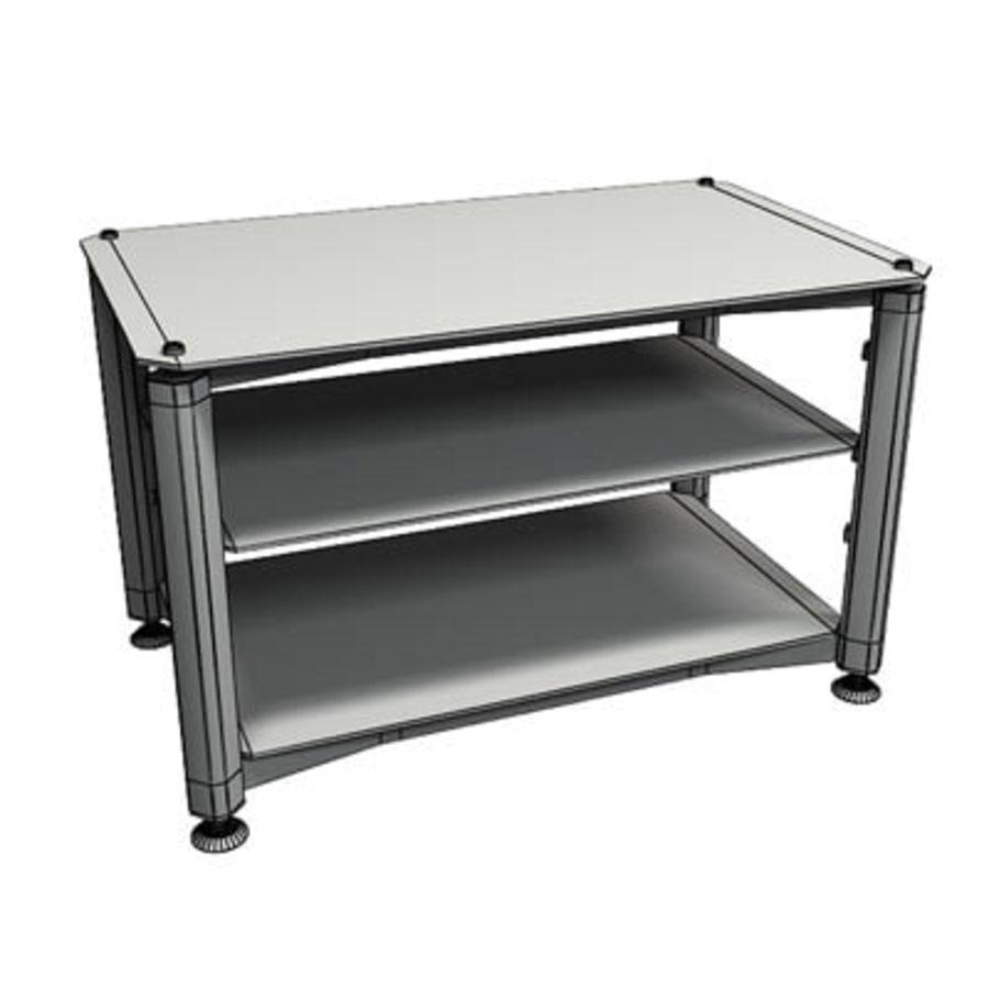 Tv table de 3DRivers royalty-free modelo 3d - Preview no. 3