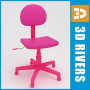 Çocuklar bilgisayar koltuğu 01 3DRivers tarafından 3d model