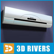 Air conditioner by 3DRivers 3d model