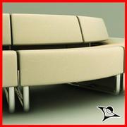 Path Sofa Invert 3d model